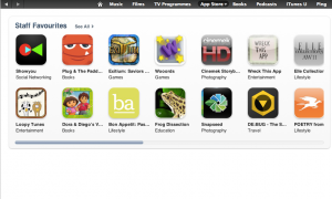 Loopy Tunes Featured in iTunes Staff Favourite